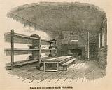 Newgate prison. Ward for condemned prisoners.