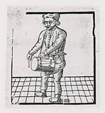 Richard Tarleton dancing a jig from London to Norwich, 1588