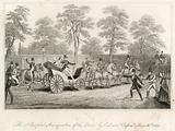 The attempted assassination of the Queen by Edward Oxford, 10 June 1840