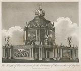 Temple of Concord erected for the Peace of 1814