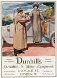 Dunhill's, specialists in motor equipment, 2 Conduit Street