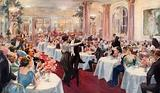 Supper Scene at the Savoy
