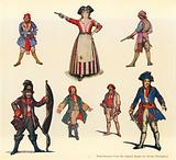 Designs for The Pirates of Penzance