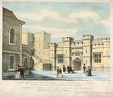 South West View of the New Jewel House in the Tower of London, erected 1840-41