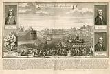Execution of the Rebel Lords on Tower Hill, 1746