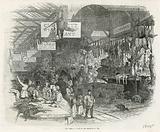 Leadenhall Market on Christmas Eve, 1845
