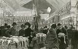 Leadenhall Market at Christmas Time