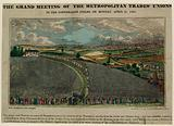 The grand meeting of the Metropolitan Trades' Unions in the Copenhagen Fields, 21 April 1834