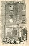 Birthplace of JMW Turner in Maiden Lane