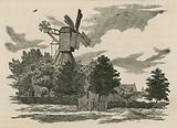 The old mill on Wimbledon Common