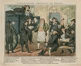 Undertakers regaling themselves at Death's Door, Battersea Rise, Surrey