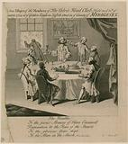 The Calves Head Club, held on 30 January 1734 at the Golden Eagle in Suffolk Street