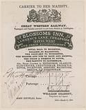 Blossoms Inn, Lawrence Lane, Cheapside, Bill