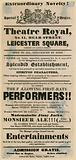 "Skit ""theatre playbill"" advertising a pub, The Bear and Ragged Staff"