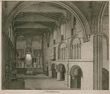 Interior of Church of St Bartholomew the Great