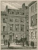 Lord Beaconsfield's house, 19 Curzon Street, Mayfair