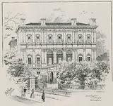 Dorchester House, Park Lane, London, the residence of the Shahzada Nasrullah Khan