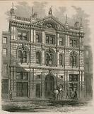 Newly-erected offices of the Peninsular and Oriental Steam Navigation Company, Leadenhall Street, London