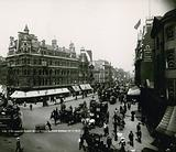 Tottenham Court Road from Oxford Street, London; photograph