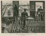 The life of a railway signalman, on duty in a London signal box