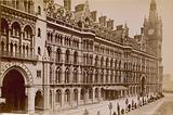 The Midland Grand Hotel, The Midland Railway Station, Euston Road, London; photograph