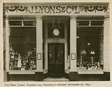 The first Lyons' Teashop