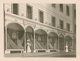 Shop front for Messrs Everington, India shawl warehouse, 10 Ludgate Street, London