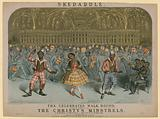 Skedaddle, the celebrated walk round, sung and danced by the Christy's Minstrels