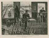 The life of a railway signalman on duty in a London signal-box