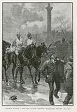 Bloody Sunday: The Life Guards holding Trafalgar Square