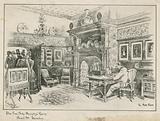 The Fine Arts Society's Room, Bond Street, London – the Ante-Room