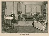 The back drawing-room in Curzon Street, London. The room in which Lord Beaconsfield usually ….