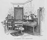 Beerbohm Tree's dressing room
