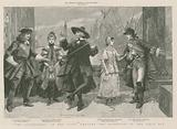 The Gondoliers at the Savoy Theatre - the quintette in the first act