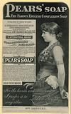 Advert for Pears Soap featuring actress Lillie Langtry