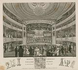 Royal Theatre, Cobourg, Surrey, as first opened in May 1818