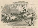Astley's Amphitheatre, London – A scene in the circus at Batty's Amphitheatre