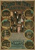 Round the Town Lancers by Warwick Williams; musical score