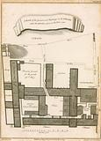 A plan of the ground and buildings in the Strand called the Savoy, taken in the year 1736