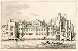 Savoy, London, as it is at present, 1792