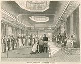 Madame Tussaud's exhibition, London