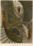Grand staircase, Carlton House, London