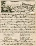 Musical score: On Greenwich Park, set by Mr Jackson