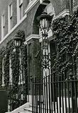 20- 23 Curzon Street, London; street lamps; photograph