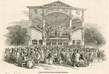 Surrey Zoological Gardens, Kennington, London: the new Orchestra