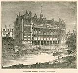 Architecture of the London School Board: Hanover Street School, Islington, London