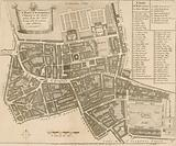 Map of the parish of St Giles in the Fields, London