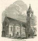 Old St Pancras Church, London, reconstructed