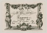 Trade card for W Hogarth