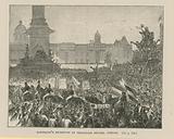 Garibaldi's Reception in Trafalgar Square